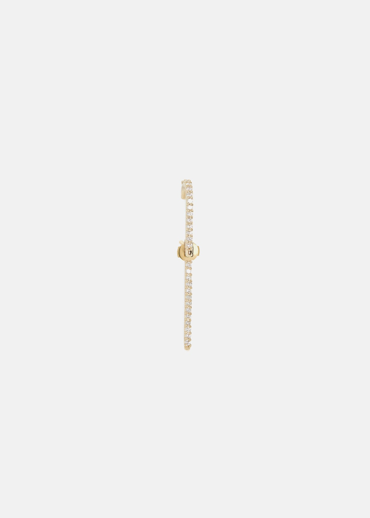 Petite Diamond Thread Ear Pin