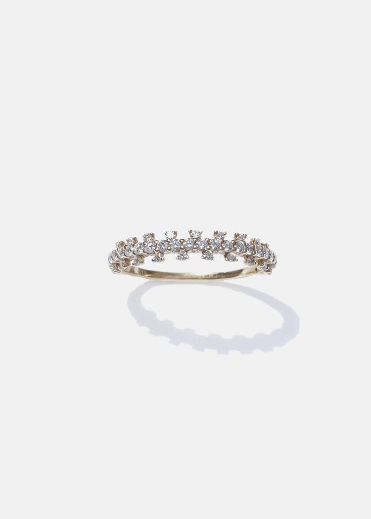 Diamond Zipper Ring