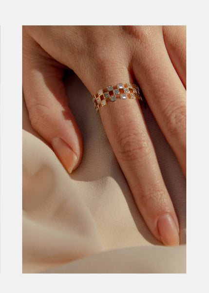 Grande Anerise Diamond Ring