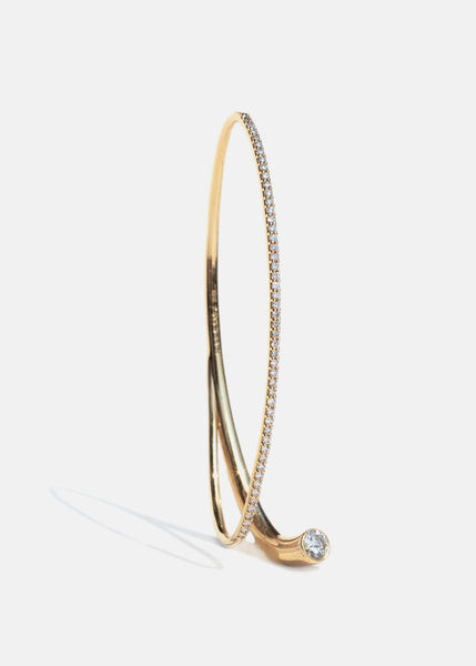 Arena Diamond Ear Cuff