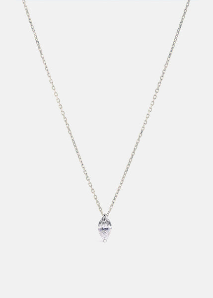 Mini Marquise Diamond Necklace