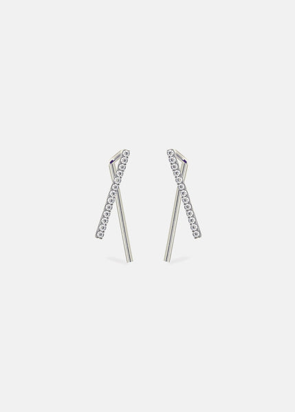 Diamond Thread Ear Hooks