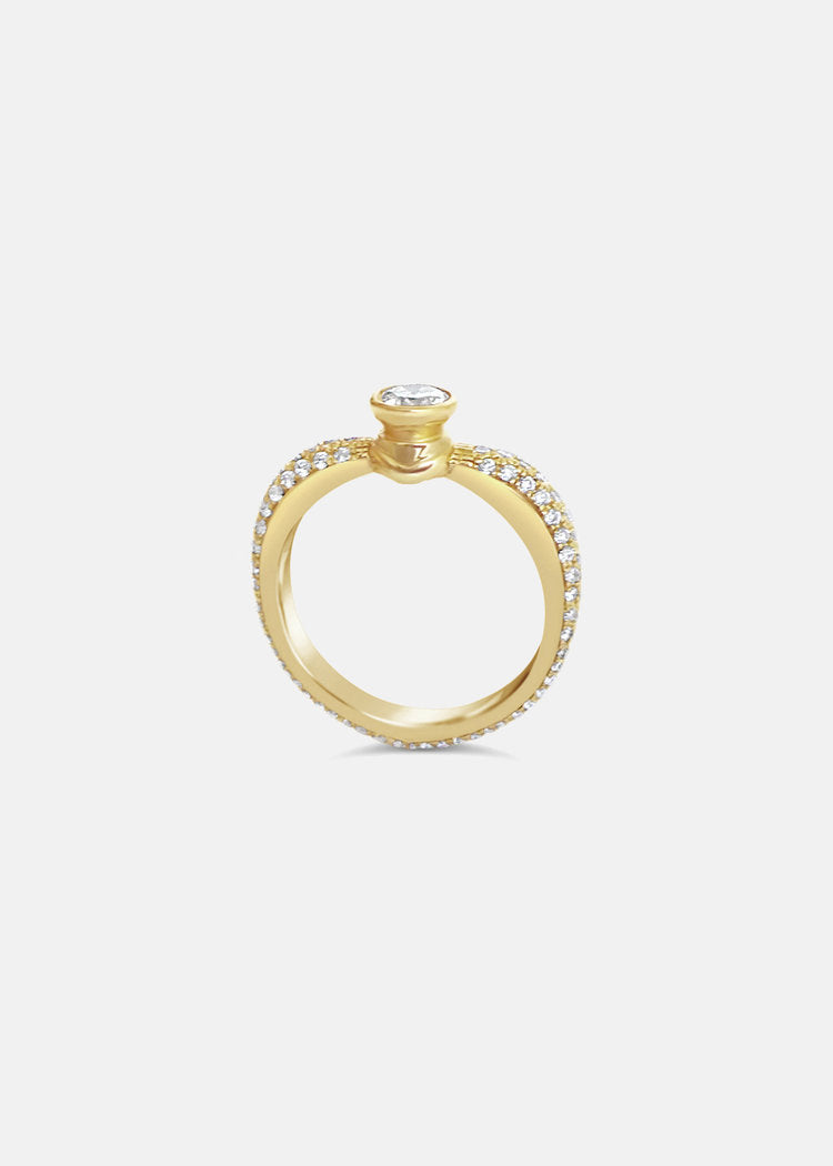 Éternal Promise Pavé Ring
