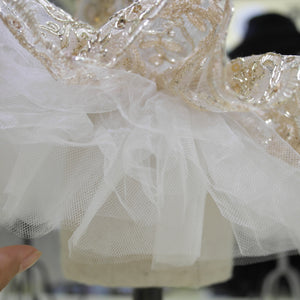 Princess Pet Embroided Wedding Dress