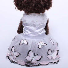 Load image into Gallery viewer, Pet Princess Dress Tutu Flowers & Butterfly Design