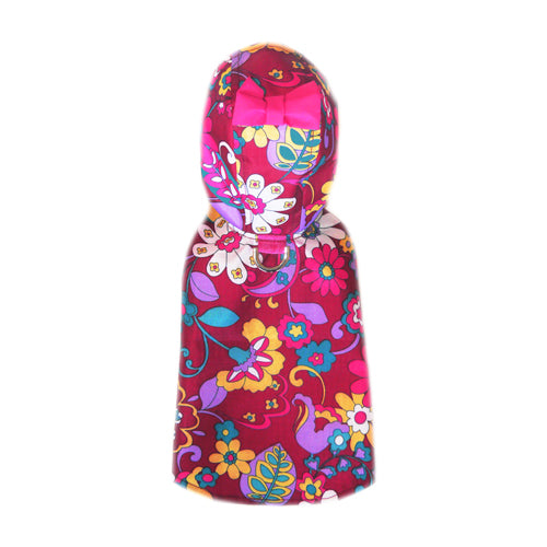 Lydia Large Floral Print Raincoat