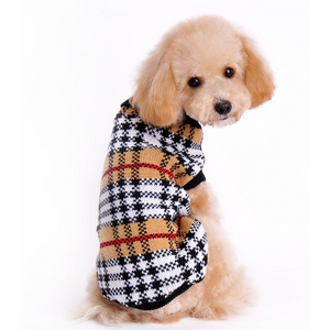 Furberry Checkered Sweater | Dog Clothing