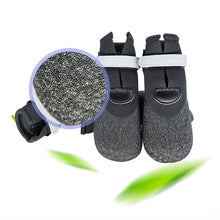 Load image into Gallery viewer, Black Glitter Reflective Rain Boots