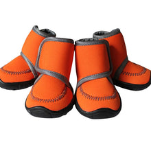 Load image into Gallery viewer, Waterproof Winter Pet Dog Shoes 4Pcs/Set