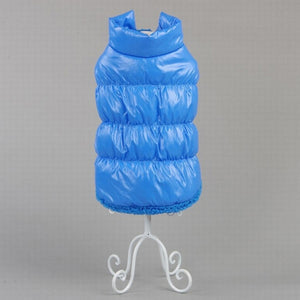 Fleece Lined Bubble Jacket