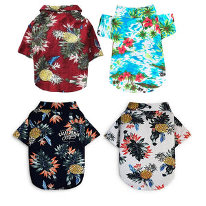 Pet Hawaiin Beach Shirt