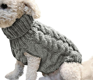 Warm Winter Cable Knit Jumper Sweater
