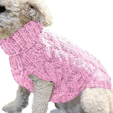 Load image into Gallery viewer, Winter Knitted Dog Clothes Warm Jumper Sweater