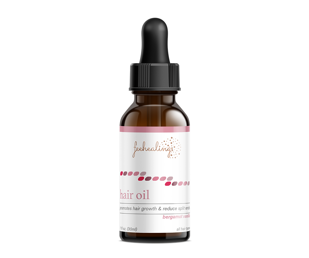 Bergamot & Vanilla Hair Oil