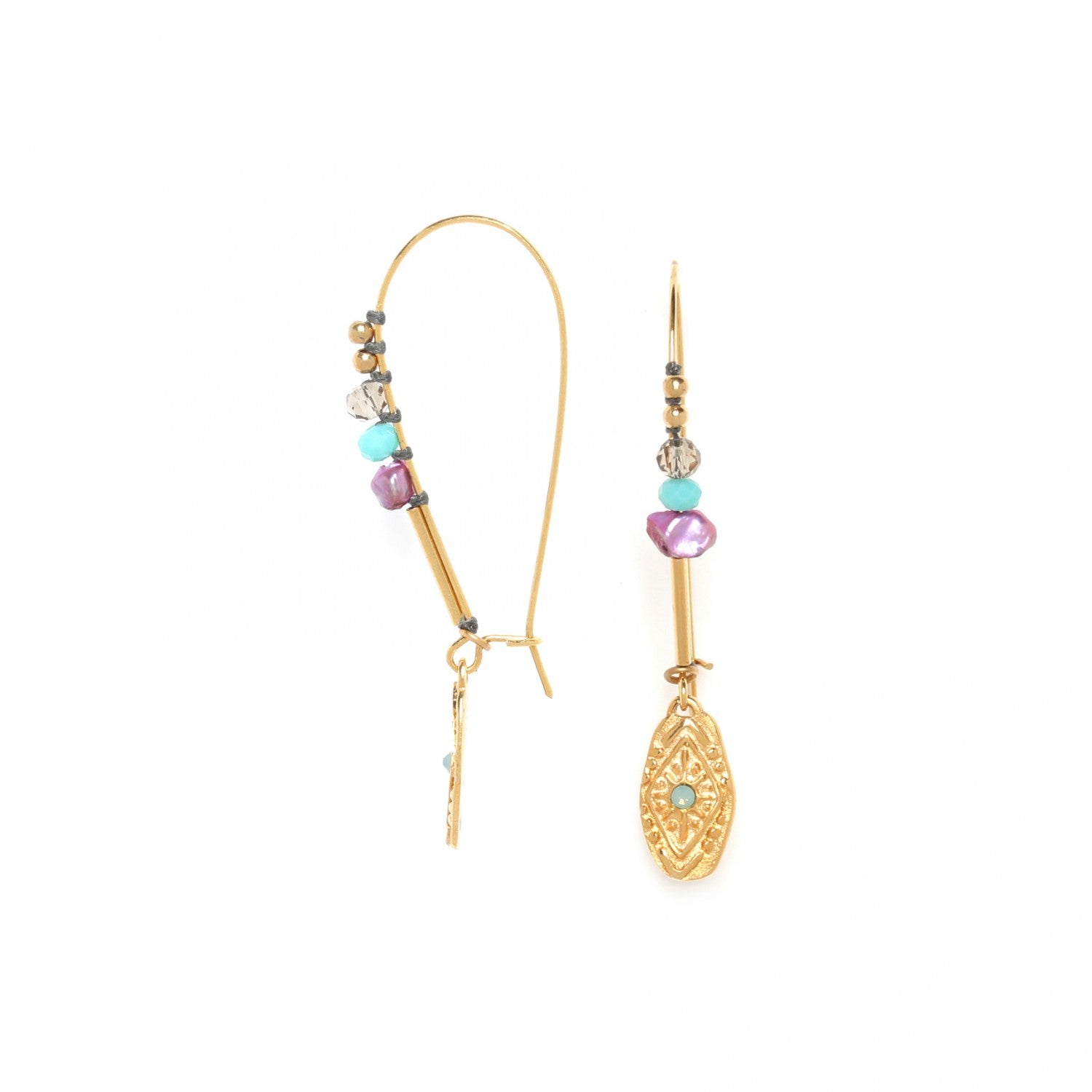 Marta Earring | XL Beaded Hooks