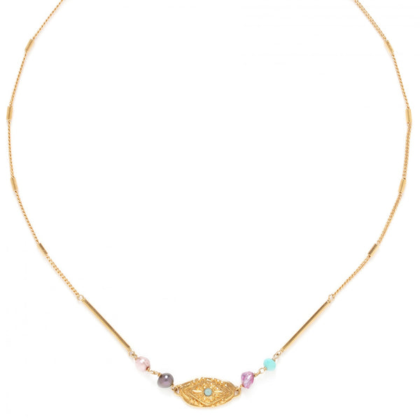 Marta Necklace | Thin Oval