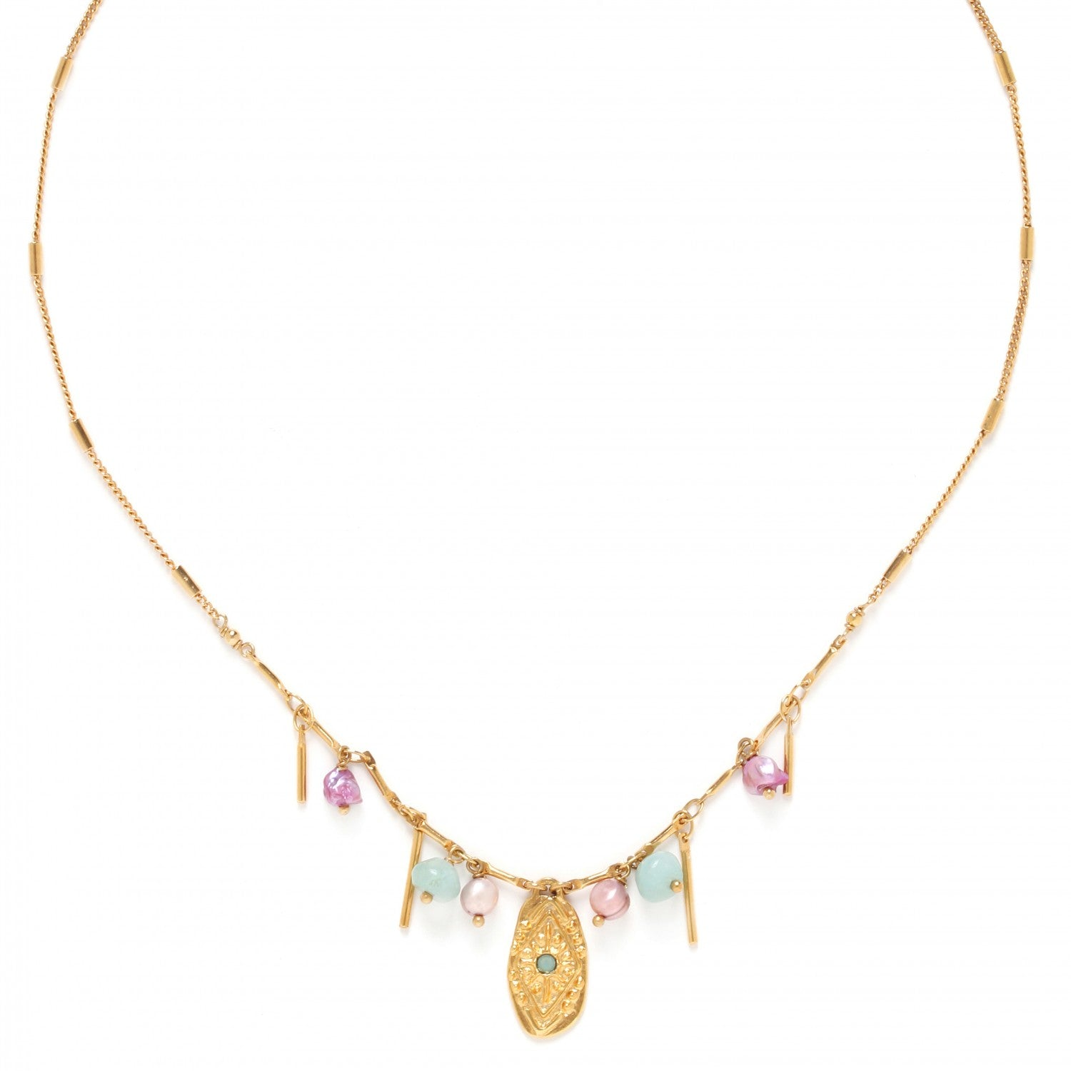 Marta Necklace | Multi-Dangle