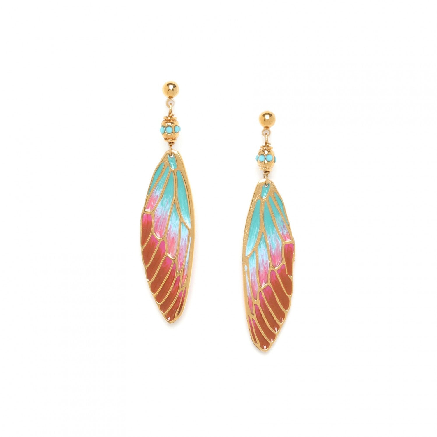 Lilybelle Earring | Smal Ball Post (Pastel)