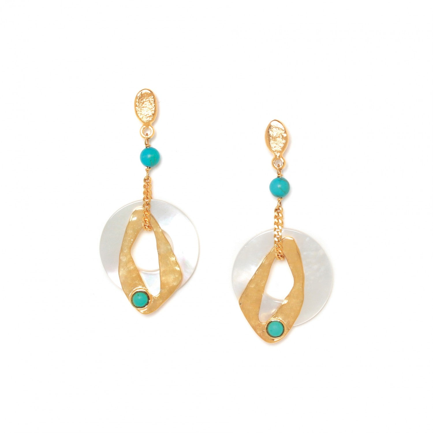Ines Earring | Oval Post