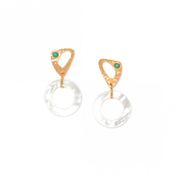 Ines Earring | Dual Element