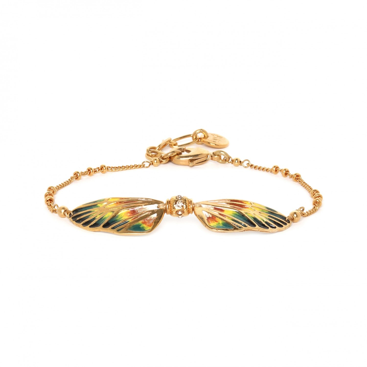 Lilybelle Bracelet | 2 Wings (Yellow)