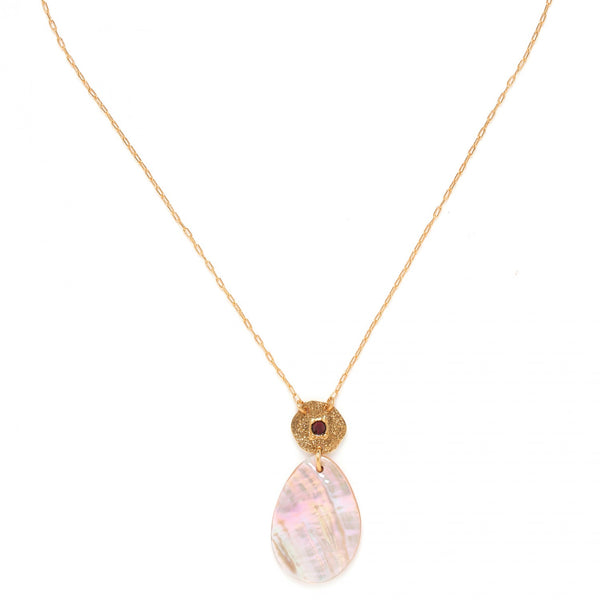 Coralie Necklace | Drop Pendant