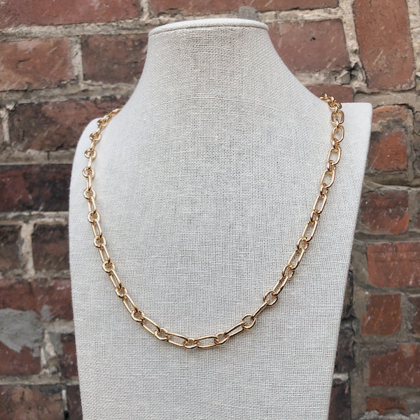 Long Anchor Chain | Gold