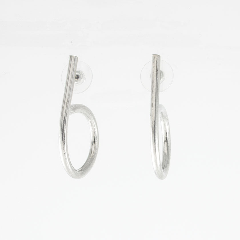 Madisson Earring- Pewter