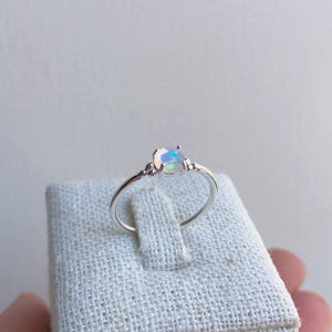 Frances Ring | Silver & Opal