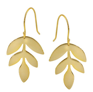 Gold Leaf Dangles