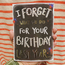 "Load image into Gallery viewer, ""Last Year"" 
