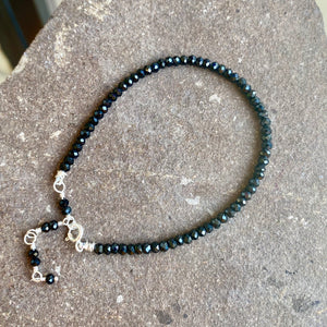 Gem Stacker | Onyx/Silver