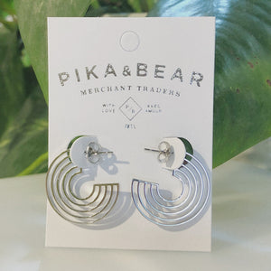 Lo-Fi Earrings | Silver