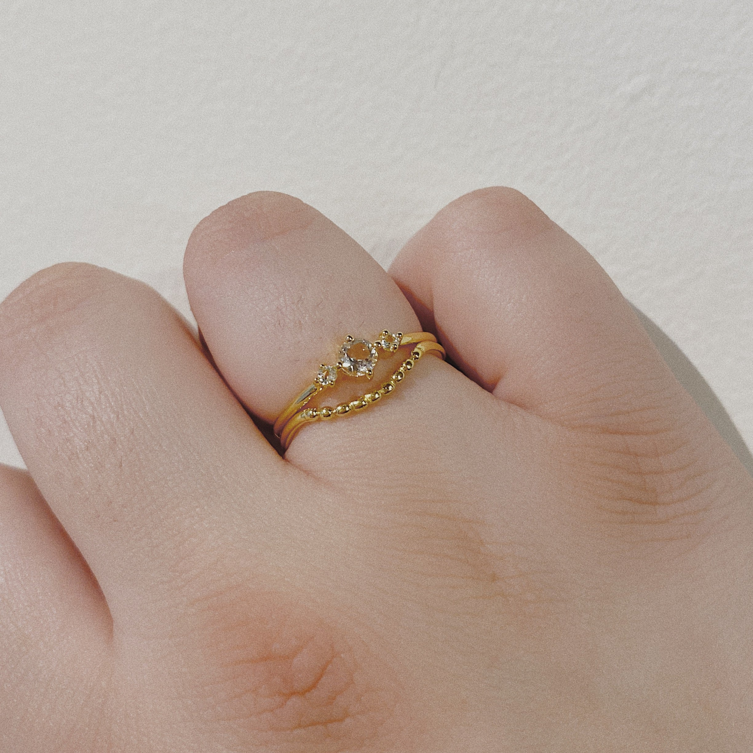 Cradle Ring | Gold