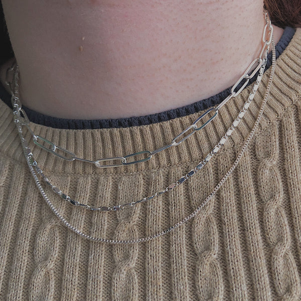 Simple Triple Layer Fashion Necklace