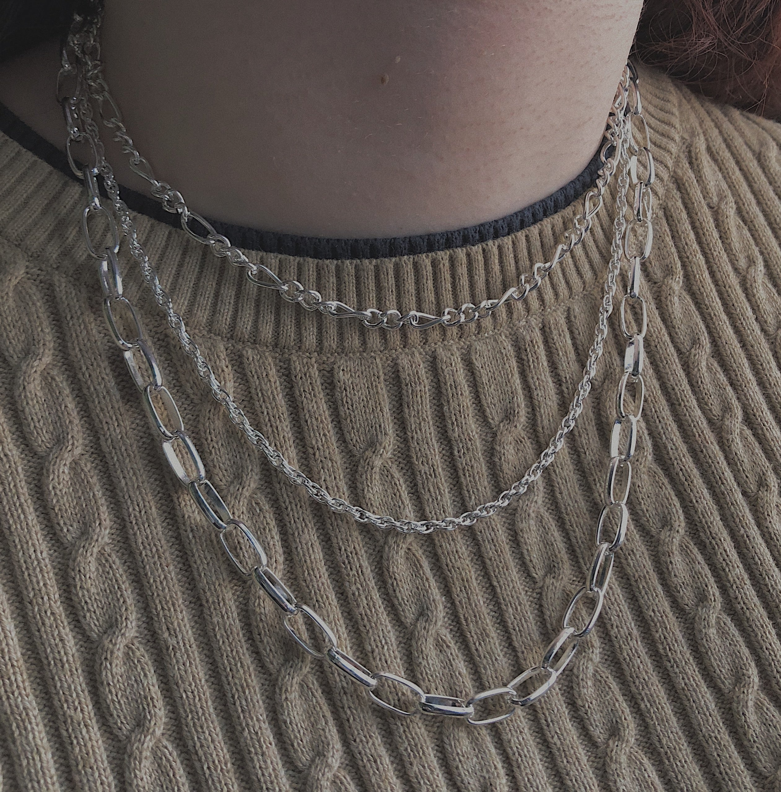 Triple Layer Fashion Chain
