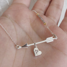 Load image into Gallery viewer, Captured Love necklace | 18""