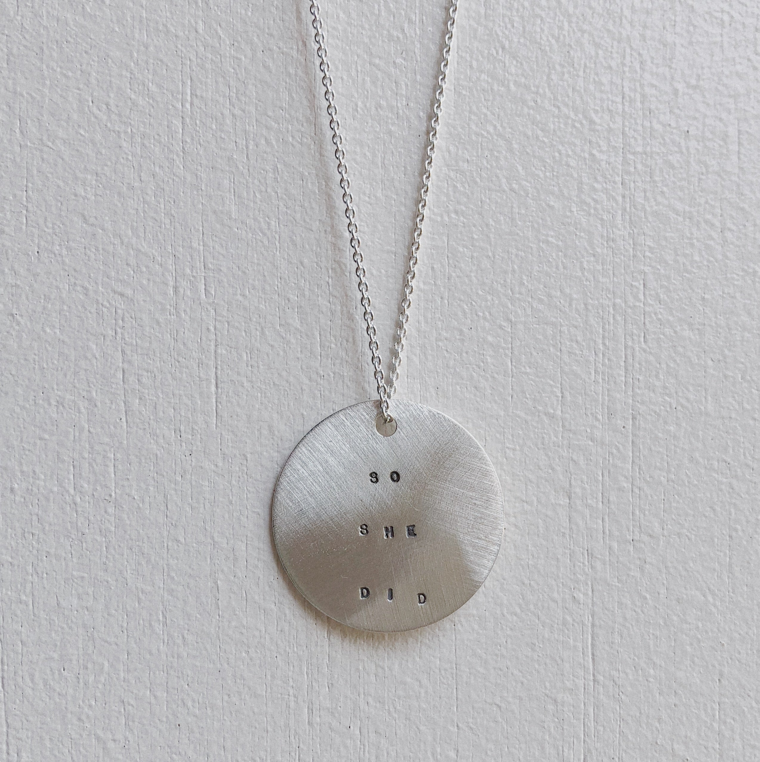 Large Coin Necklace | She Believed
