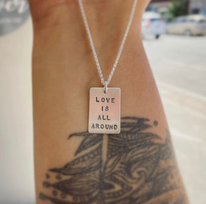 Love is All Around Necklace | 18""