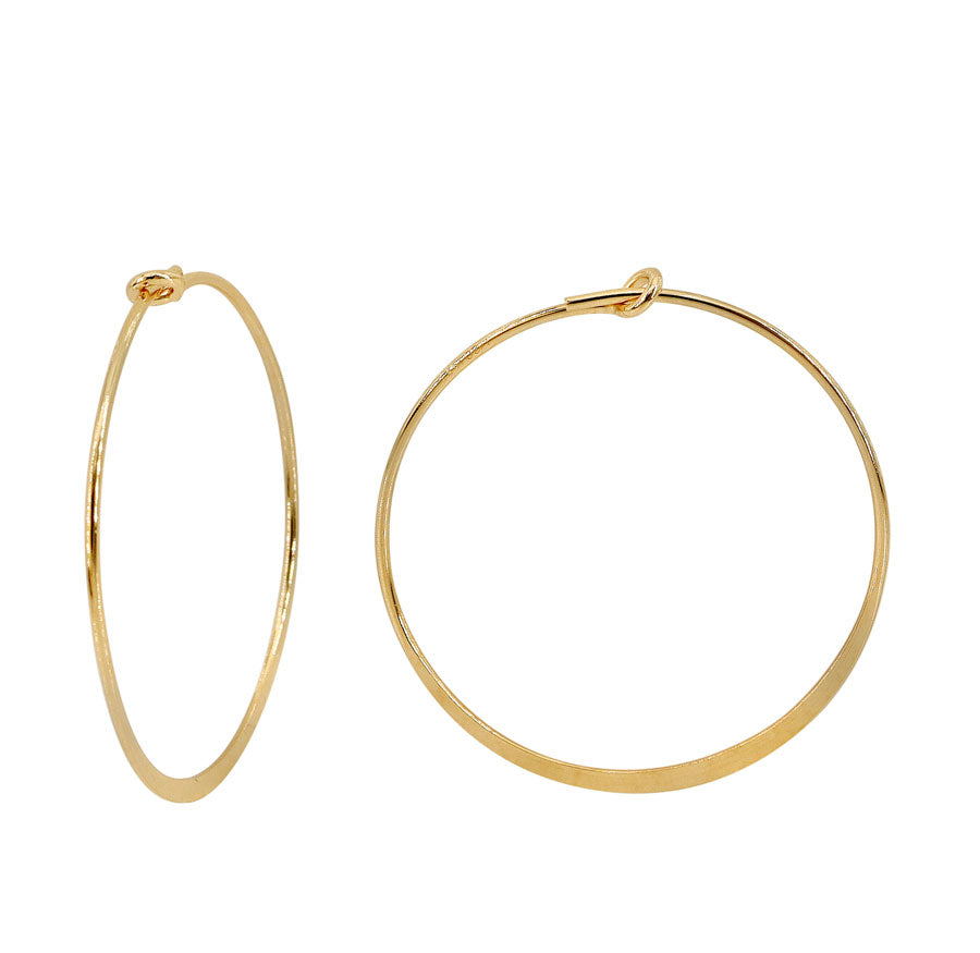 25mm Gold Fill Hoops