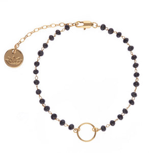 Manon Bracelet | Black