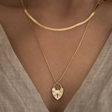 Load image into Gallery viewer, Gold Lovelock Necklace