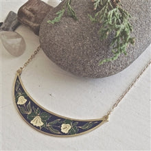 Load image into Gallery viewer, Majalis Necklace | Navy