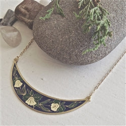 Majalis Necklace | Navy