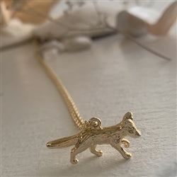Fox Necklace | Gold