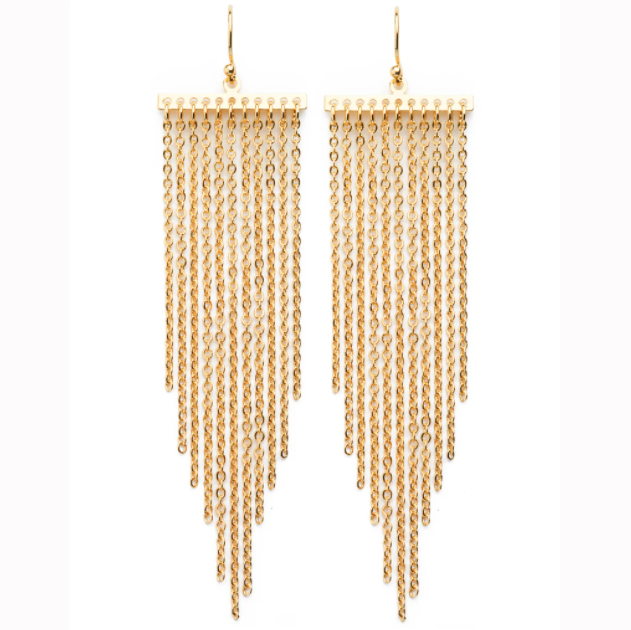 Diana Earrings | Gold