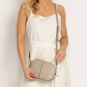 Jasmine Crossbody- Putty