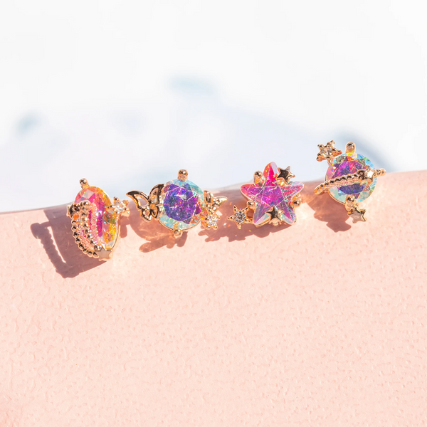Andromeda Stud Set | Gold