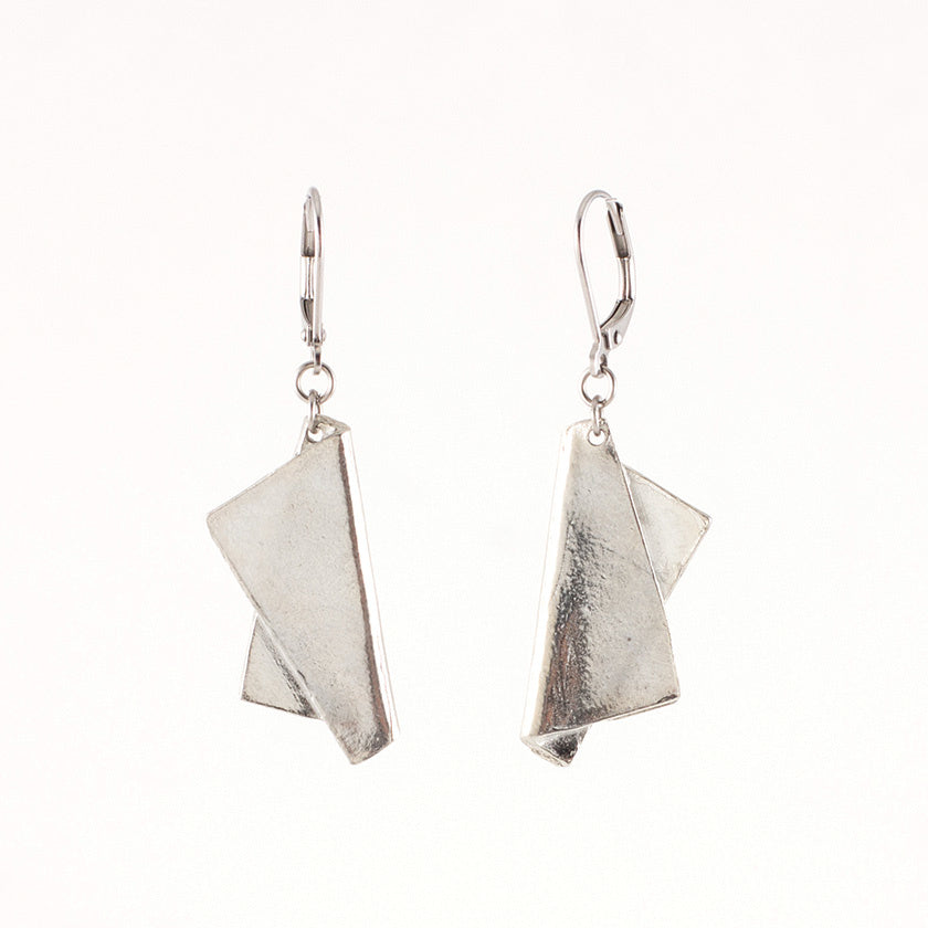 Manon Earring- Pewter