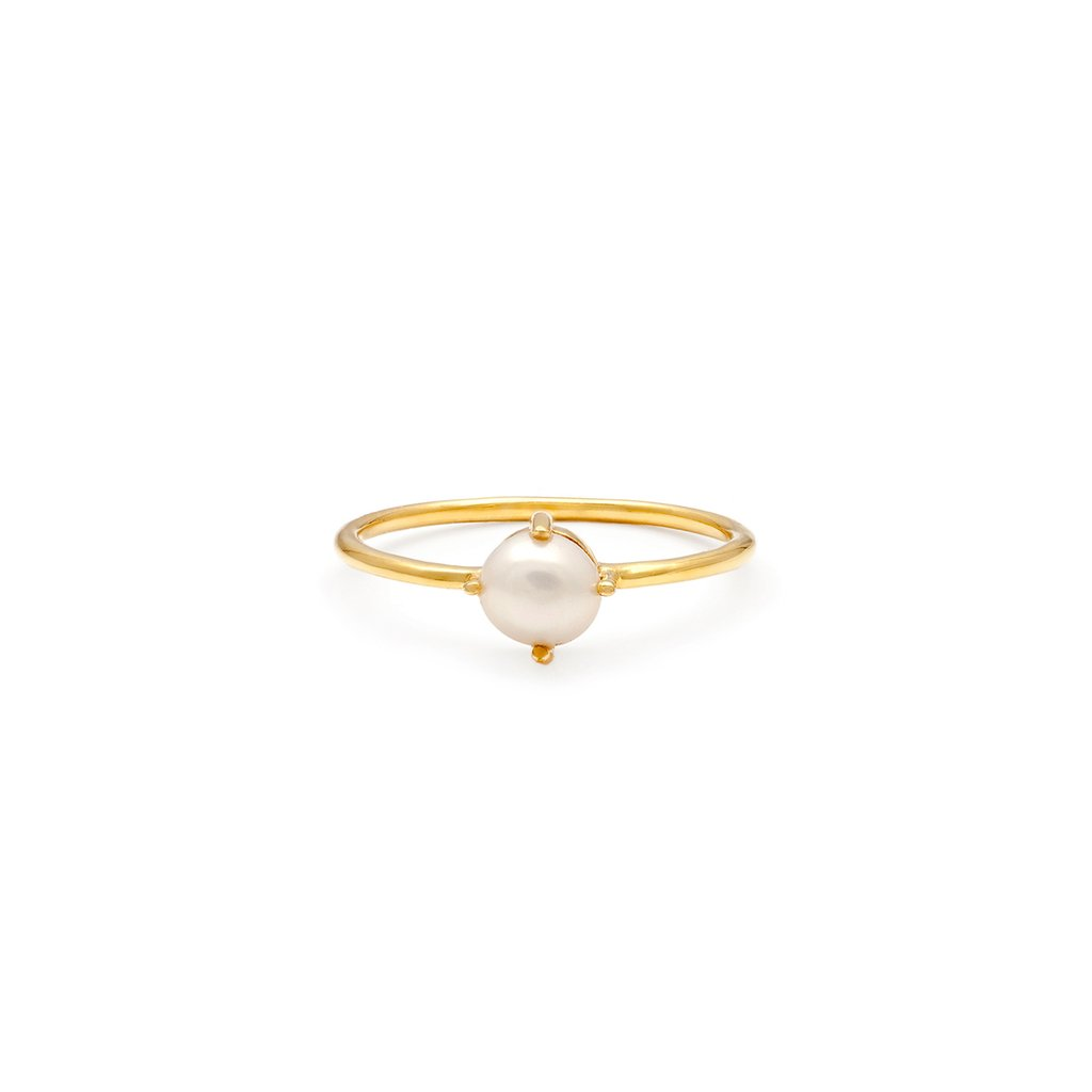 Compass Ring | Pearl SIZE 5